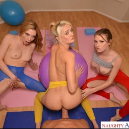 Aiden Ashley in 'VR Naughty America' Aiden Ashley, Ashley Lane, and Zoe Sparx get an even deeper stretch after their yoga session  (Thumbnail 231)