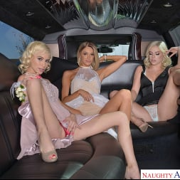 Allie Nicole in 'VR Naughty America' Allie Nicole, Emma Hix, and Kiara Cole fuck date before Prom (Thumbnail 110)
