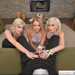 Allie Nicole in 'VR Naughty America' Allie Nicole, Emma Hix, and Kiara Cole fuck date before Prom (Thumbnail 220)