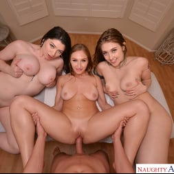 Alyx Star in 'VR Naughty America' Massage babes Alyx Star, Electra Rayne, and Skylar Snow take extra special care of their new client (Thumbnail 187)