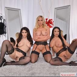 Anissa Kate in 'VR Naughty America' Anissa Kate, Olivia Austin, and Valentina Nappi fuck in lingerie (Thumbnail 90)