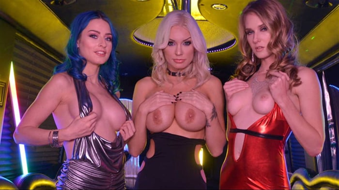 Ashley Lane in 'Ashley Lane, Jewelz Blu, and Kenzie Taylor Bring in the New Year with a BANG!'
