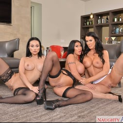 August Taylor in 'VR Naughty America' MILFs August Taylor, Crystal Rush, and Reagan Foxx fuck the bartender  (Thumbnail 144)