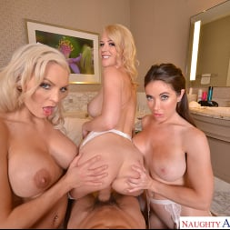 Bianca Burke in 'VR Naughty America' Bride has foursome with friend's before wedding (Thumbnail 192)