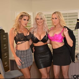 Brandi Love in 'VR Naughty America' Brandi Love, Kayla Paige, and London River bang the new guy for meeting the sales quota (Thumbnail 13)