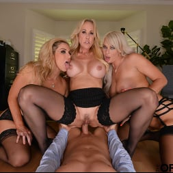 Brandi Love in 'VR Naughty America' Brandi Love, Kayla Paige, and London River bang the new guy for meeting the sales quota (Thumbnail 39)