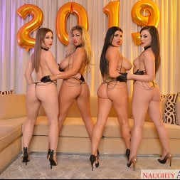 Bridgette B. in 'VR Naughty America' Secret NYE VR Porn Party With You and Seven Porn Stars (Thumbnail 111)