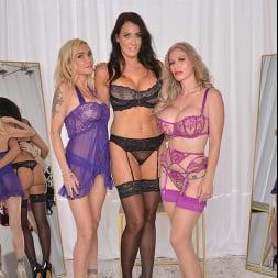 Casca Akashova in 'VR Naughty America' Casca Akashova, Devon and Reagan Foxx fuck in the famous Dressing Room (Thumbnail 1)
