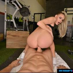 Emma Hix in 'VR Naughty America' wants You to train her and fuck her in the Gym (Thumbnail 98)