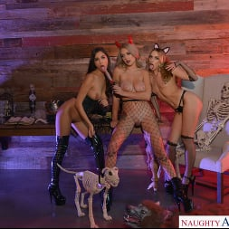 Gabbie Carter in 'VR Naughty America' Gabbie Carter, Gianna Dior, and Khloe Kapri give the best treats of all (Thumbnail 84)