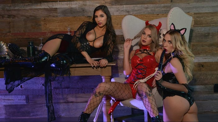 Gabbie Carter in 'Gabbie Carter, Gianna Dior, and Khloe Kapri give the best treats of all'