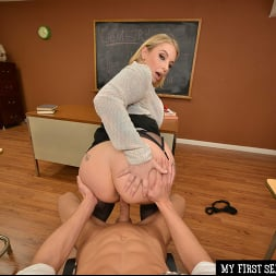 Ivy LeBelle in 'VR Naughty America' Busty professor Ivy LeBelle demonstrates her sex education to you!!! (Thumbnail 52)