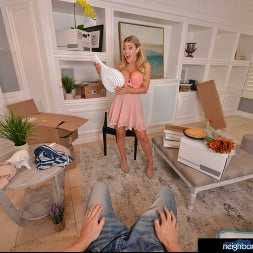 Kayla Kayden in 'VR Naughty America' wants to fuck you as a welcome to the neighborhood (Thumbnail 32)