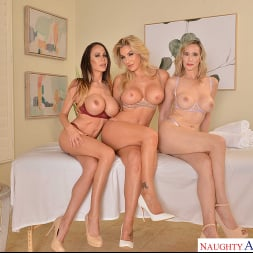 Kayla Paige in 'VR Naughty America' Masseuse MILFs Kayla Paige, Lilly James, and McKenzie Lee, take extra special care of YOU on your lunch break (Thumbnail 239)