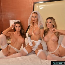 Kayla Paige in 'VR Naughty America'  Sarah Jessie is getting married but wants one last bang with her bride's maids, Kayla Paige and Silvia Saige (Thumbnail 36)