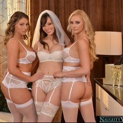 Kayley Gunner in 'VR Naughty America' Lexi Luna is getting married and she wants a foursome with her fiancé and best friends, Kayley Gunner and Paisley Porter (Thumbnail 57)