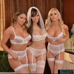 Kayley Gunner in 'VR Naughty America' Lexi Luna is getting married and she wants a foursome with her fiancé and best friends, Kayley Gunner and Paisley Porter (Thumbnail 190)