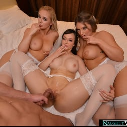 Kayley Gunner in 'VR Naughty America' Lexi Luna is getting married and she wants a foursome with her fiancé and best friends, Kayley Gunner and Paisley Porter (Thumbnail 228)