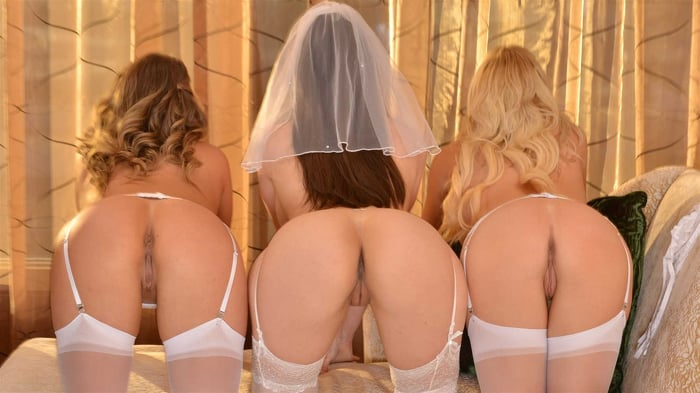 Kayley Gunner in 'Lexi Luna is getting married and she wants a foursome with her fiancé and best friends, Kayley Gunner and Paisley Porter'