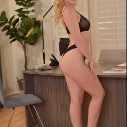 Leah Lee in 'VR Naughty America' needs a good spank for going through your files at work (Thumbnail 284)