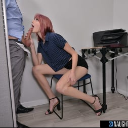 Lena Anderson in 'VR Naughty America' Interns fuck their bosses in this naughty office (Thumbnail 130)