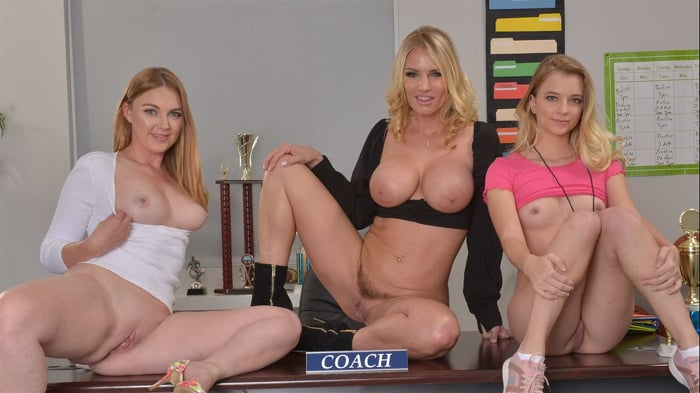 Marie McCray in 'Marie McCray, Rachael Cavalli, and Riley Star deal with a Bully Coach'